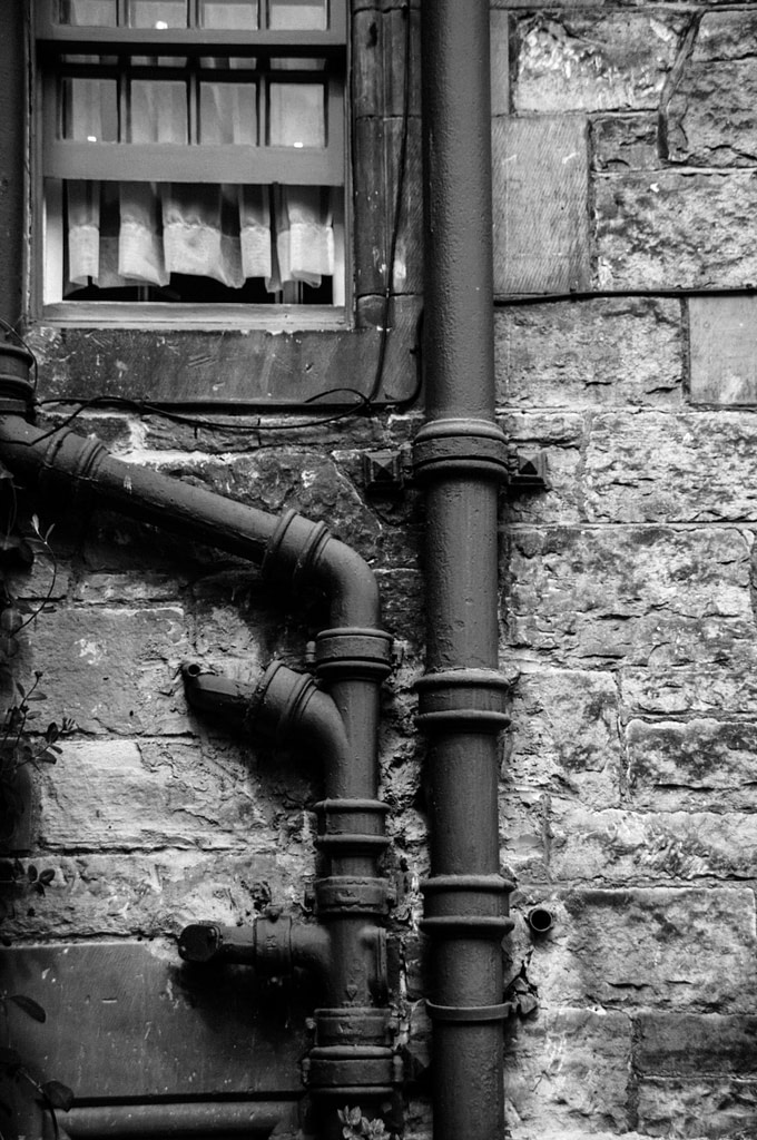 Outside Plumbing Pipes
